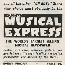 <cite>New Musical Express</cite> logos