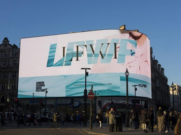 London Fashion Week British Fashion Council (AW18) 1