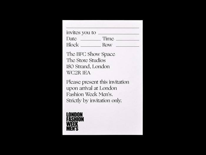 London Fashion Week British Fashion Council (AW18) 8