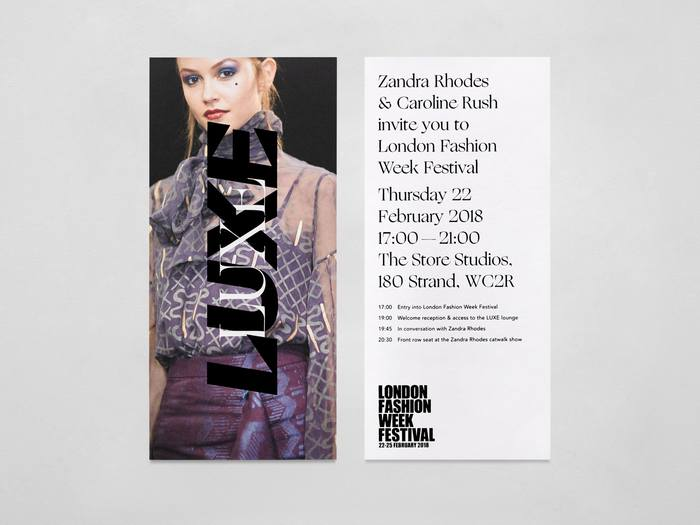 London Fashion Week British Fashion Council (AW18) 9