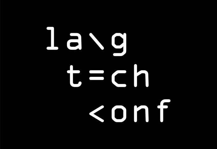 Language Technology Conference 1