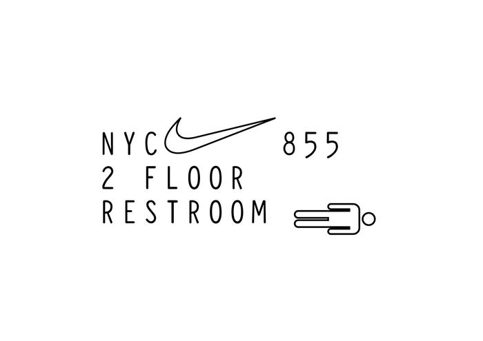 Nike Headquarter (Logo & Lettering Proposal 2) 2