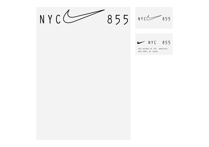 Nike Headquarter (Logo & Lettering Proposal 2) 3