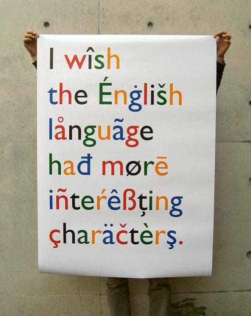 """""""English Language"""" poster 1"""