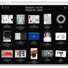 Studio Silex website/identity