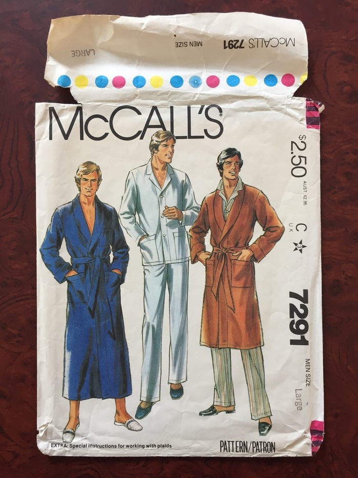 McCall's patterns logo and packaging