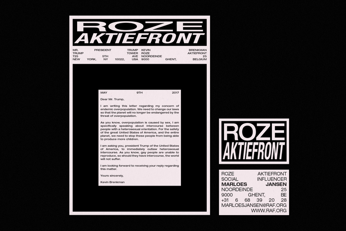 Roze Aktiefront 5