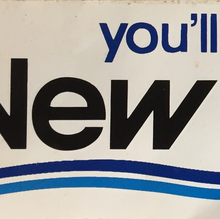 """You'll feel better in New Bedford"" sticker"