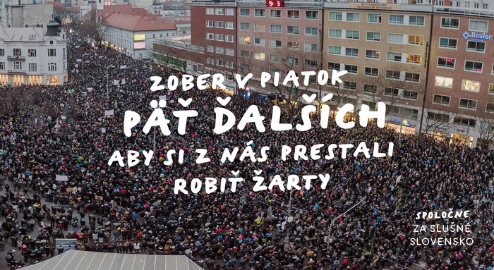 Mass Protests in Slovakia 3