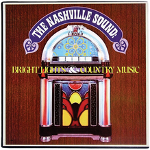 <cite>The Nashville Sound: Bright Lights &amp; Country Music </cite>album art