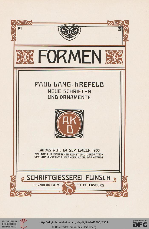 Deutsche Kunst und Dekoration: illustr. Monatshefte für moderne Malerei, Plastik, Architektur, Wohnungskunst u. künstlerisches Frauen-Arbeiten — 16.1905
