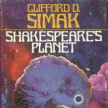 <cite>Shakespeare's Planet</cite> by Clifford D. Simak (<span>Berkley)</span>