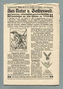 <cite>Aus Natur und Geisteswelt</cite>