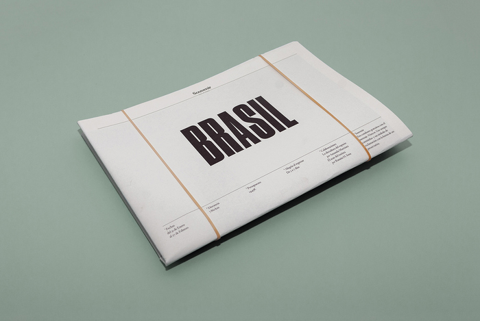 Souvenir, Brasil issue 1