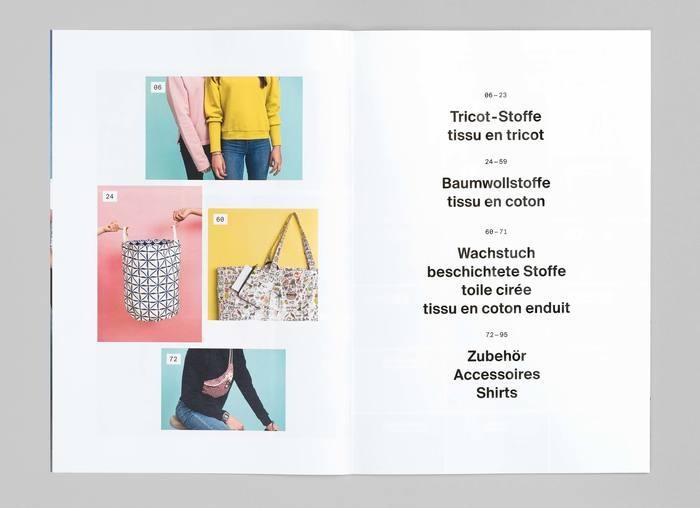 Textil Tricot Vogt, Katalog 2017/18 3