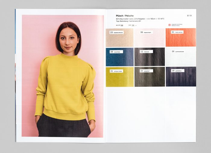 Textil Tricot Vogt, Katalog 2017/18 4