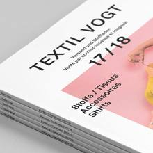 Textil Tricot Vogt, Katalog 2017/18