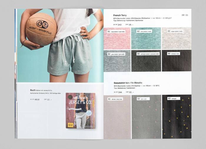 Textil Tricot Vogt, Katalog 2017/18 6