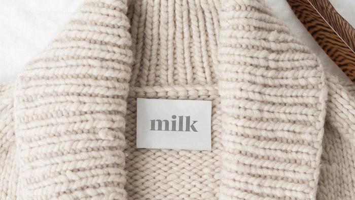 Milk Cashmere rebrand 2