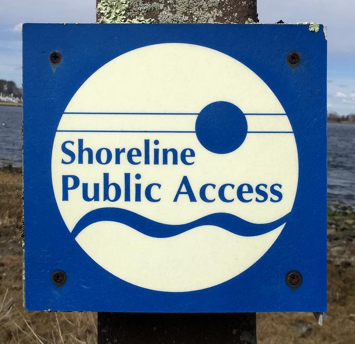 Public signs in Bristol, Rhode Island 2