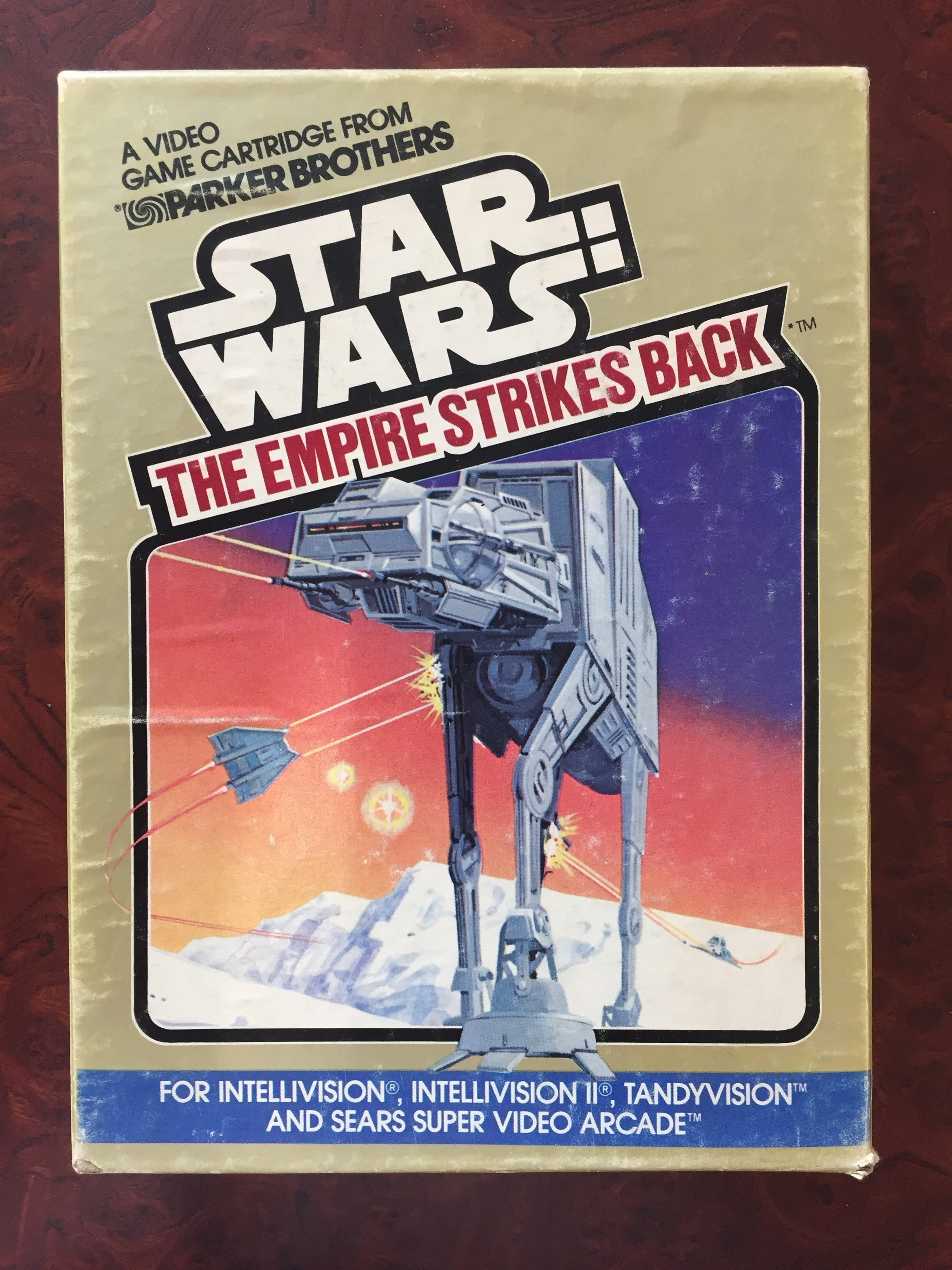 Star Wars ESB video game by Parker Brothers - Fonts In Use