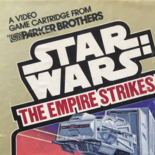 Star Wars ESB video game by Parker Brothers