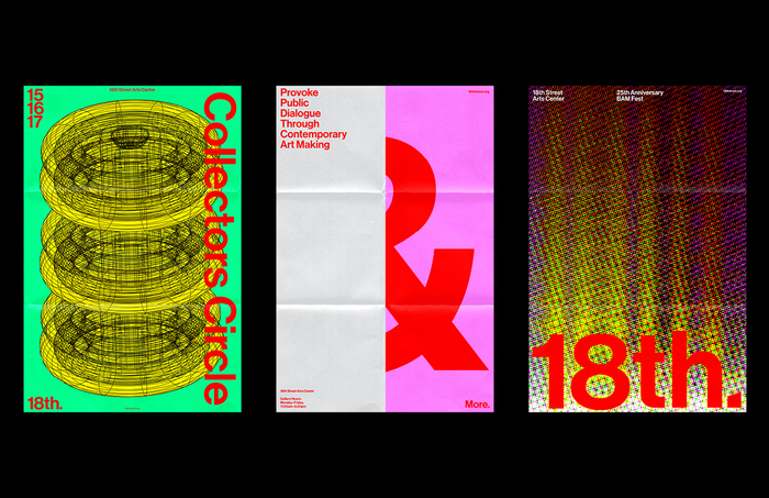 18th Street Arts Center identity (fictional) 5