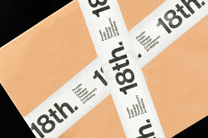 18th Street Arts Center identity (fictional) 3