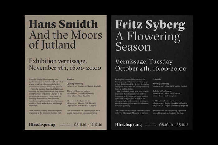 The Hirschsprung Collection identity (proposal) 6