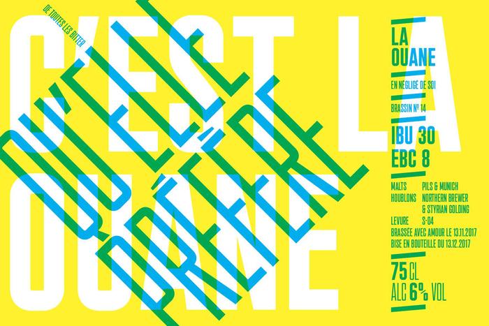 La Ouane beer labels 3
