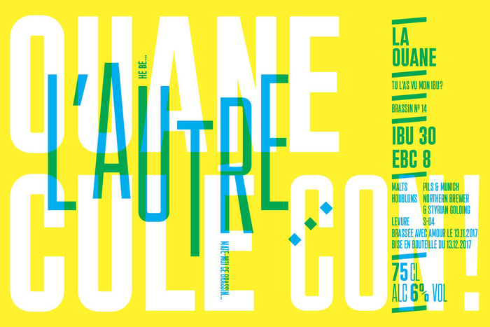La Ouane beer labels 5