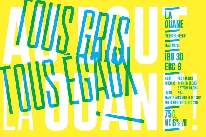 La Ouane beer labels 6