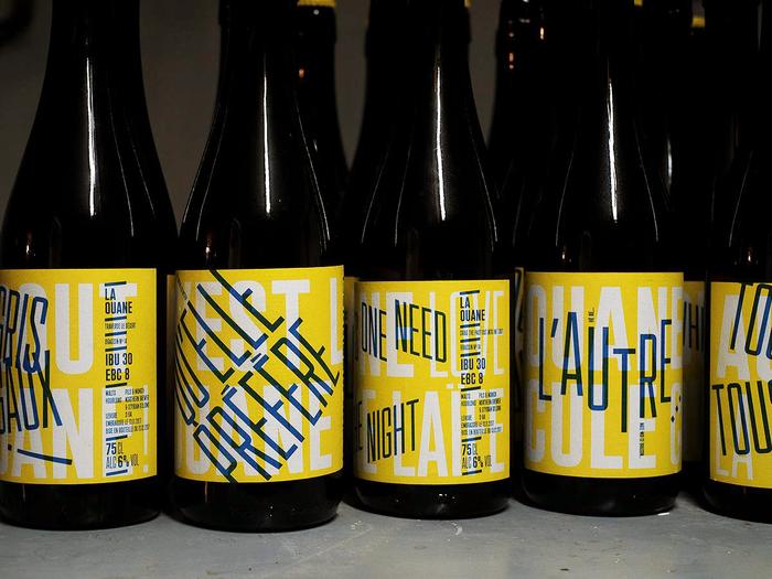 La Ouane beer labels 1