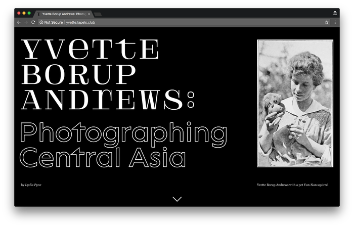 Yvette Borup Andrews: Photographing Central Asia 1