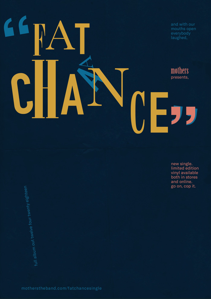 """""""Fat Chance"""" poster"""