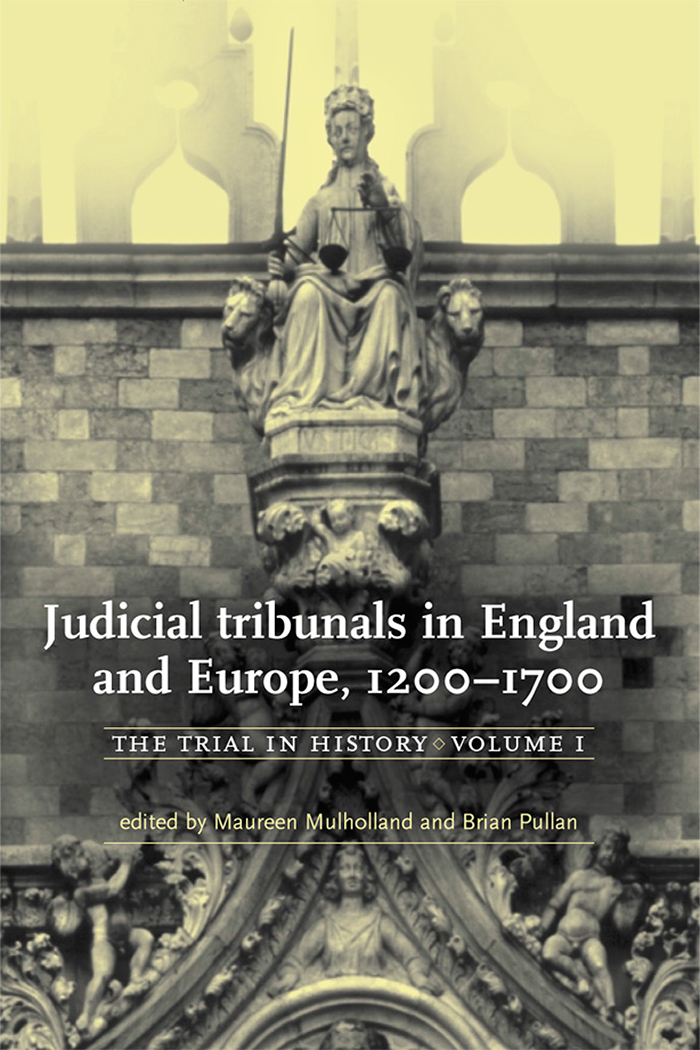 The trial in history, Manchester University Press 1