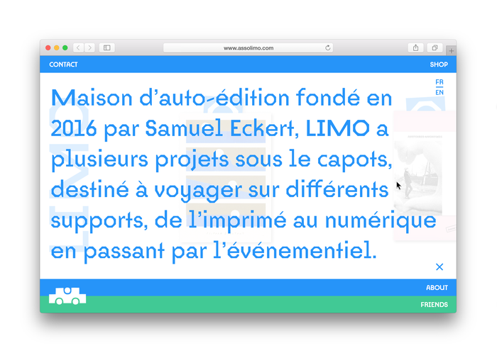 Limo book and website 11