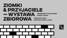<cite>Ziomki &amp; Przyjaciele</cite> exhibition poster