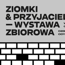 <cite>Ziomki & Przyjaciele</cite> exhibition poster