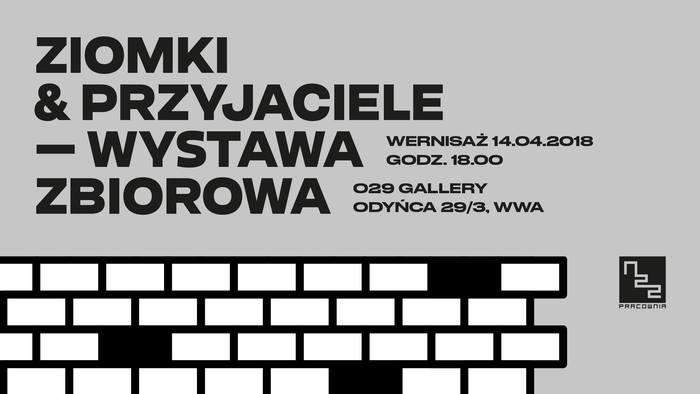 """Ziomki & Przyjaciele – Wystawa zbiorowa (""""Homies & Friends – Group exhibition""""). IG cover picture"""