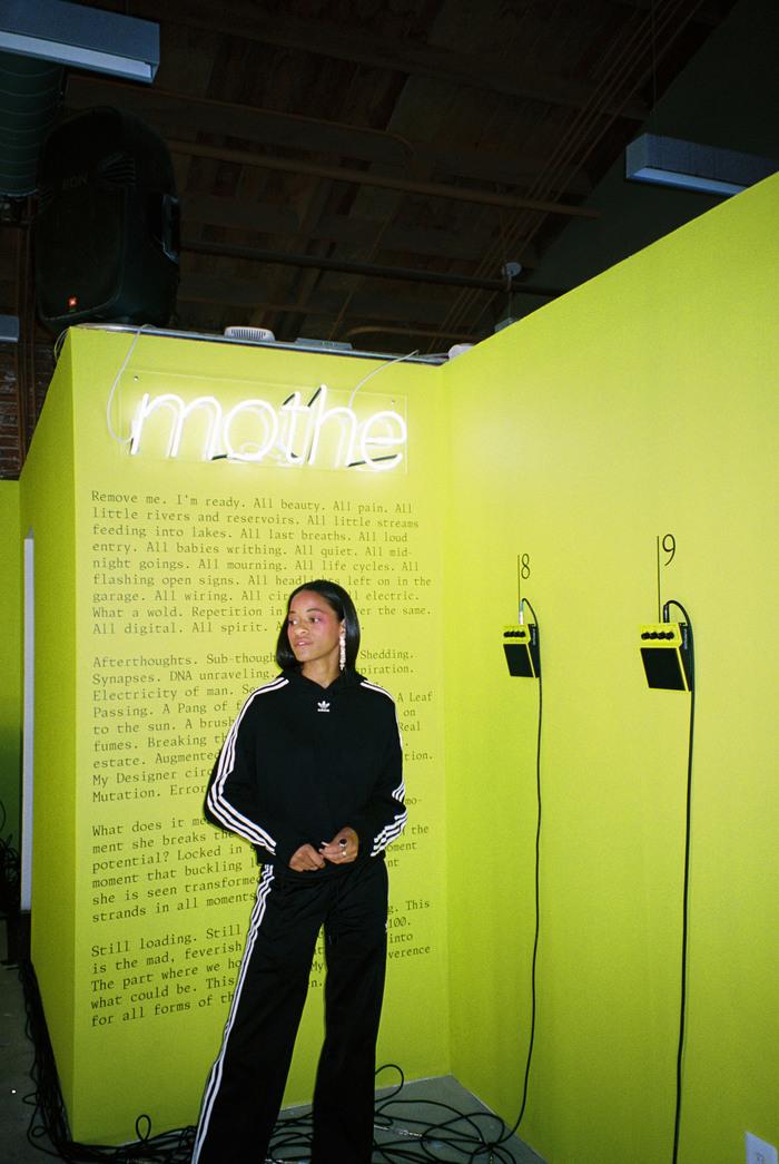 Kilo Kish — Mothe installation and poster 5