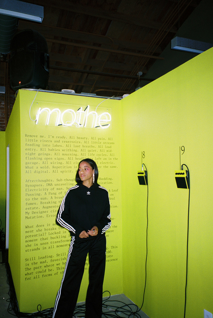 Kilo Kish — Mothe installation and poster 5