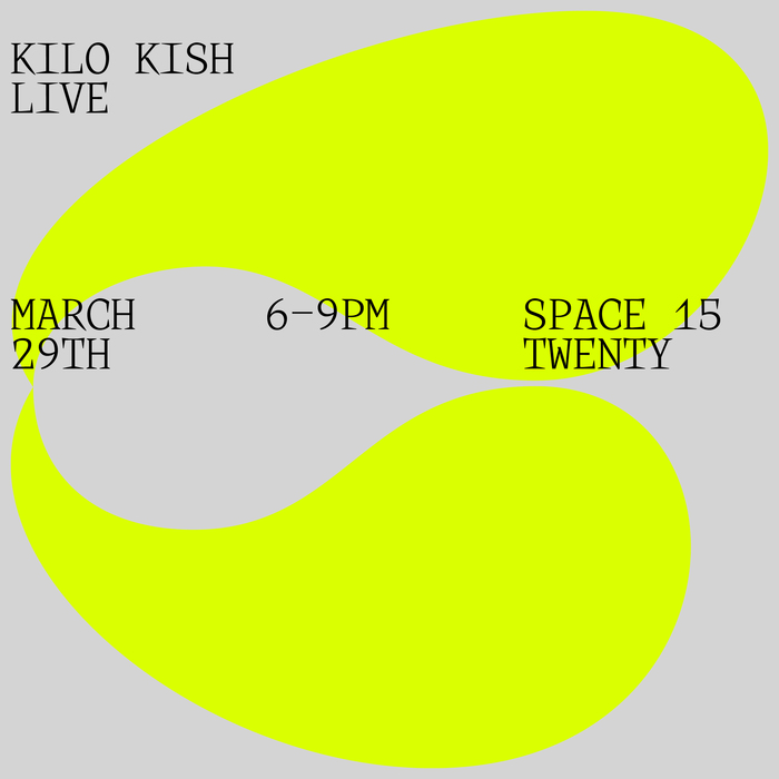 Kilo Kish — Mothe installation and poster 4