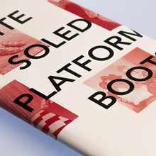 <cite>White Soled Platform Boots</cite>