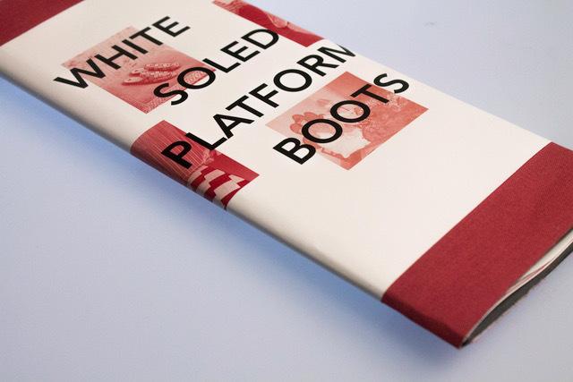 White Soled Platform Boots 1