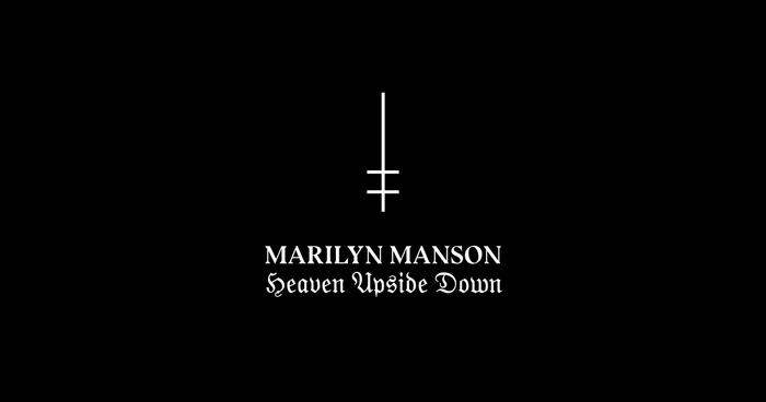 Marilyn Manson – Heaven Upside Down identity 4