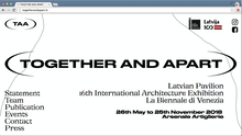 <cite>Together and apart </cite>– Latvian Pavilion website