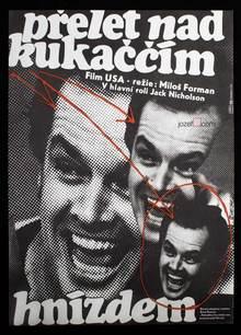 <cite>Přelet nad kukaččím hnízdem</cite> movie poster