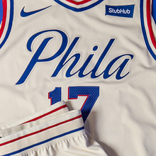 Philadelphia 76ers 2017–18 City Edition uniform and NBA Playoffs campaign