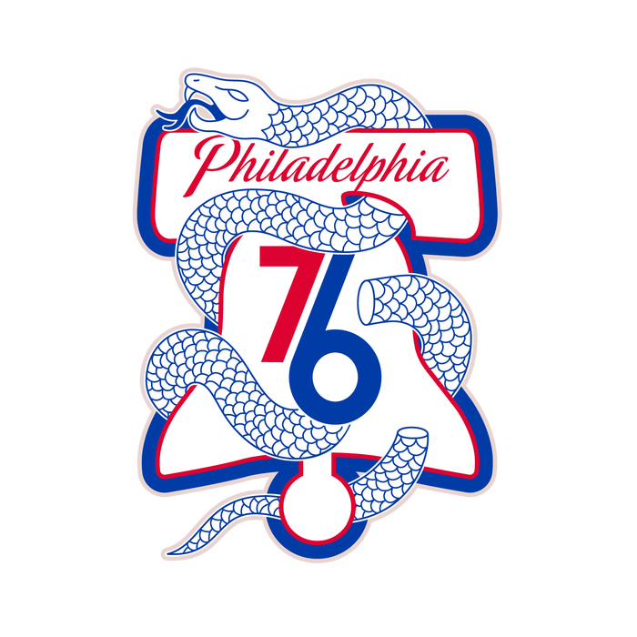 Philadelphia 76ers 2017–18 City Edition uniform and NBA Playoffs campaign 5